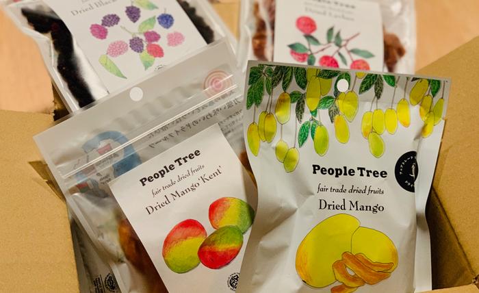 ピープルツリー peopletree ドライフルーツ マンゴー
